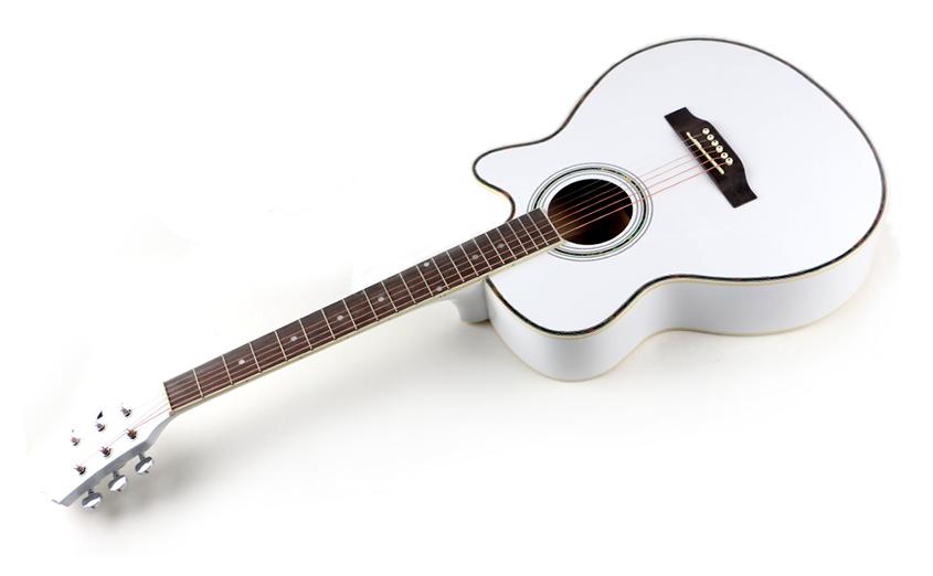 Польская полноразмерная гитара Polcraft WH