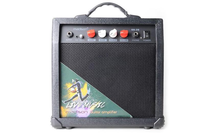 Комбоусилитель Madison GA20-BL для электрогитары